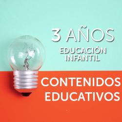 3 AÑOS · CONTENIDOS EDUCATIVOS