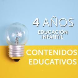 4 AÑOS · CONTENIDOS EDUCATIVOS