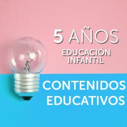 5 AÑOS · CONTENIDOS EDUCATIVOS